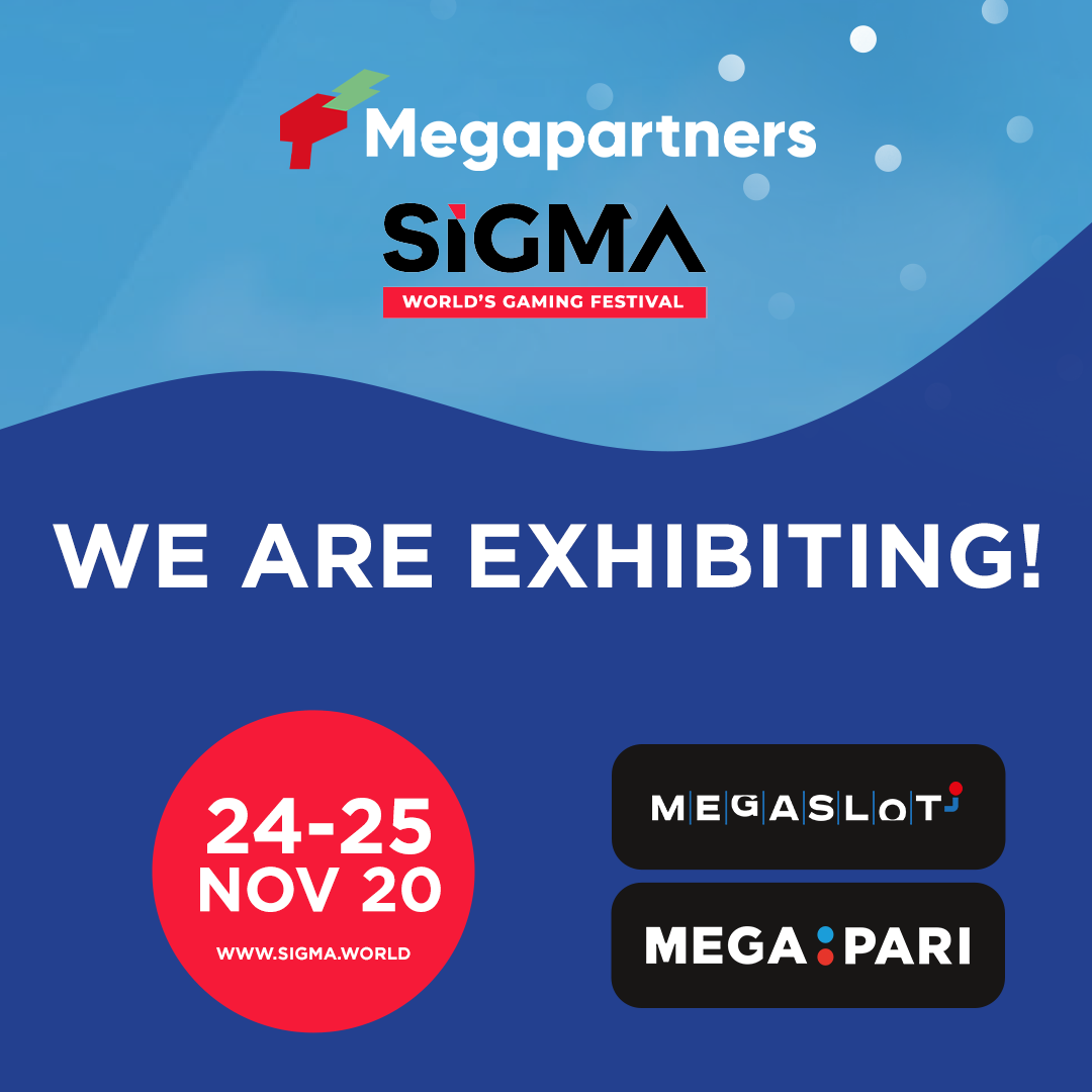 Meet brands of Megapartners: Megapari and Megaslot at Sigma Europe Virtual Expo